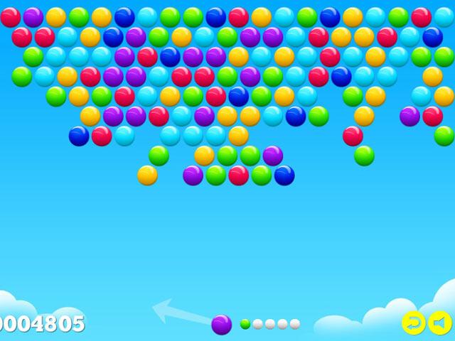 bubble game run