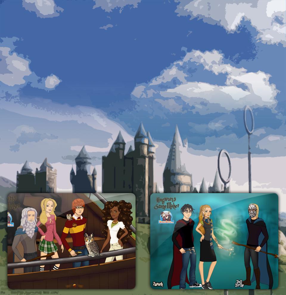 Magic School Scene Maker Background 1
