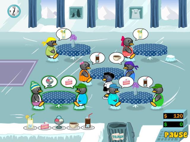 Pinguin Diner 2 - kostenlos online spielen | SpielAffe