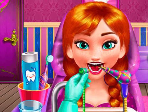 Spielaffe Zahnarzt