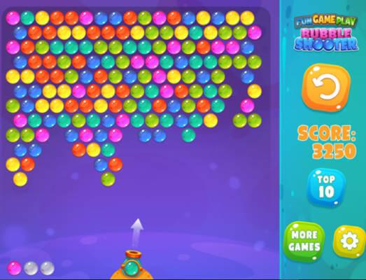 Weltall Bubble Shooter - kostenlos online spielen | SpielAffe Funnygames Bubble Shooting