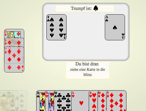 Skat - kostenlos online spielen | SpielAffe
