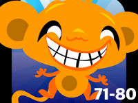 Monkey Happy Stages 71-80