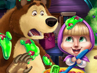Masha and the Bear: Kitchen Mischief