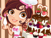 Cute Baker: Wedding Cake