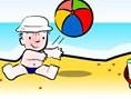 Baby On Beach Search Pic