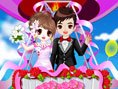 Romantic Wedding in the Sky