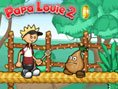 Papa Louie 2 - kämpfe gegen die Burgerzillas! Papa Louie 2 ist ein cooles Jump and Run-Game, in