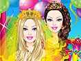 Neue Kostenlose Dress Up Spiele spielen Colorful Bride Dress Up - In diesem süßen Dress U