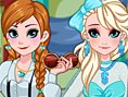 Frozen Sisters Graduation Makeover