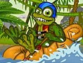 Rafting Toad