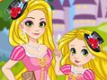 Rapunzel & Daughter Matching Dress