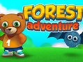 Help the cute teddy to walk safely through the forest in Forest Adventure one of the most engaging a