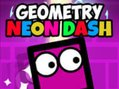 Geometry Neon Dash - springe mit coolen Monster-Blöcken! Geometry Neon Dash ist ein cooles Gesc