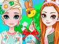 Frozen Sisters Easter Fun 2