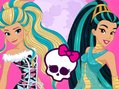 Princesses Go To Monster High