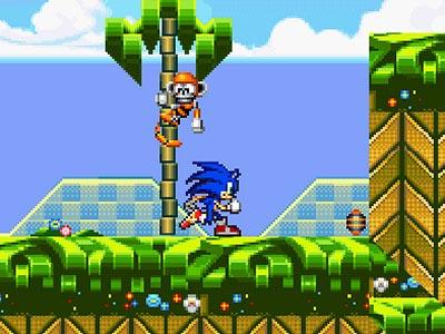Sonic Oyunu Online ücretsiz Oyna Kraloyun