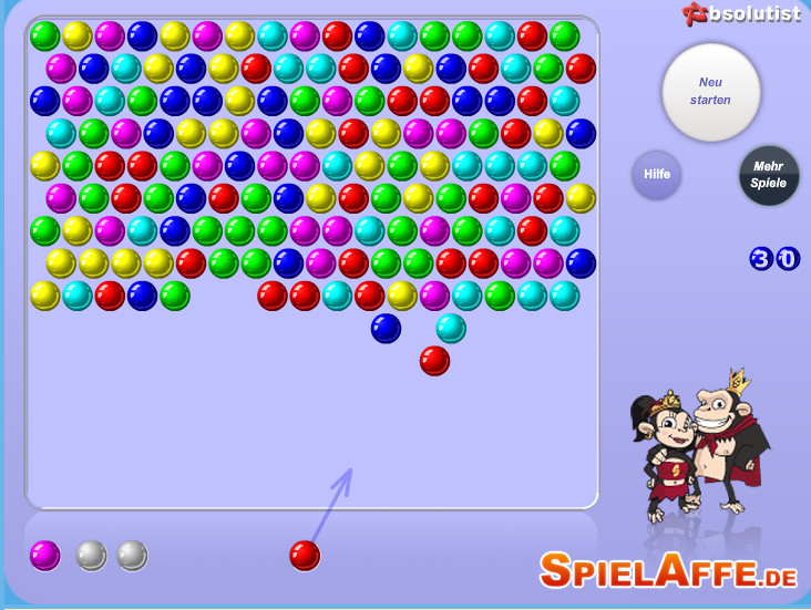bubble shot game play online for free kibagames. Black Bedroom Furniture Sets. Home Design Ideas