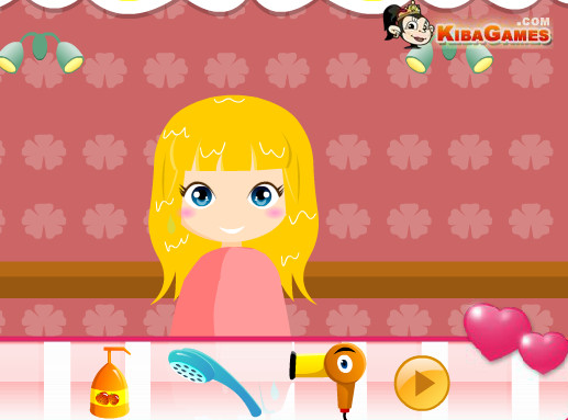 Cute Hairstyle Game Play Online For Free Kibagames