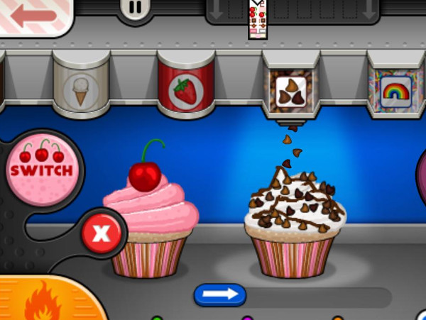 Papa's Cupcakeria Game - Play online for free   KibaGames