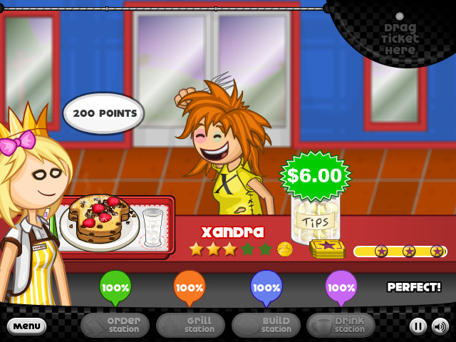 Papa's Pancakeria Game - Play online for free | KibaGames