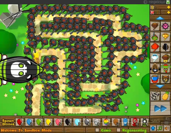bloons td 5 free online game