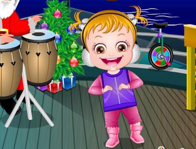 Hazel Bebek Yeniyil Coskusu Oyunu Online Ucretsiz Oyna Kraloyun