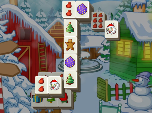 Mahjong Christmas.Mahjong For Christmas Game Play Online For Free Kibagames