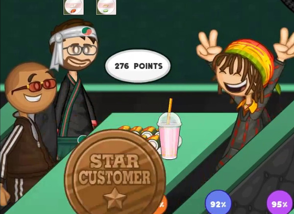 Papa's Sushiria Game - Play online for free | KibaGames
