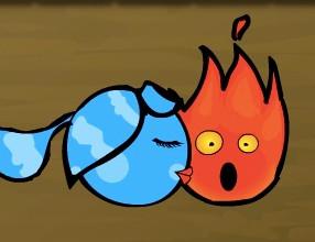 Ateş Ve Su öpücük Oyunu Online ücretsiz Oyna Kraloyun