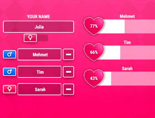Aşk Testi 3 Oyunu Online ücretsiz Oyna Kraloyun