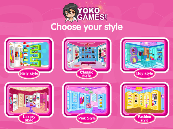 Decorate Your Closet 4 Game - Play online for free | KibaGames