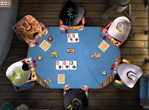 Poker/Spielaffe
