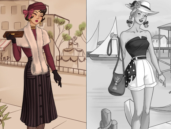 40 s fashion game play online for free kibagames