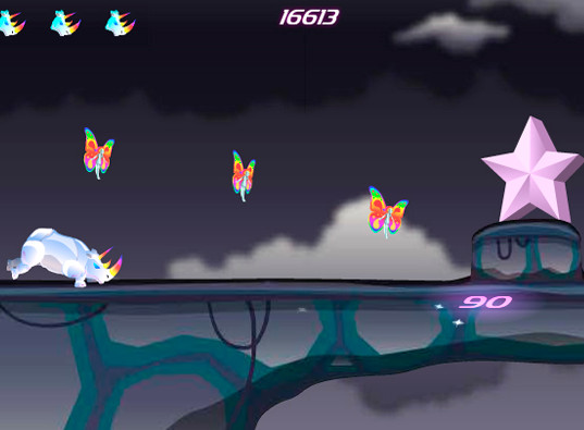 Play unicorn dash game online for pc