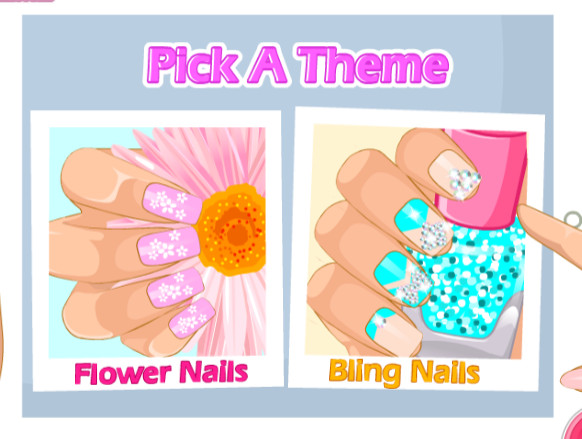 Mothers Day Nails Game Play Online For Free Kibagames