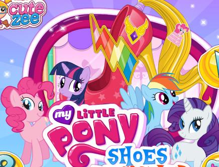 My Little Pony Ayakkabı Tasarım Oyunu Online ücretsiz Oyna Kraloyun