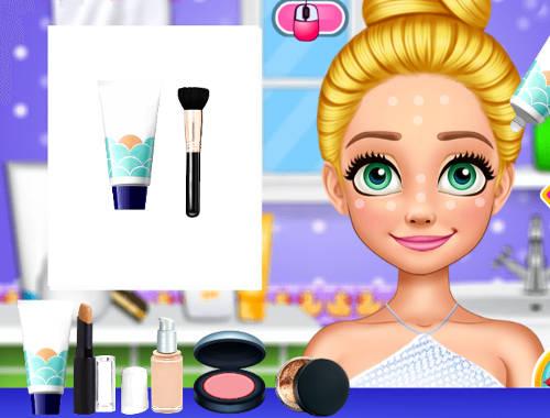 Rapunzel Summer Makeup Game - Play online for free | KibaGames