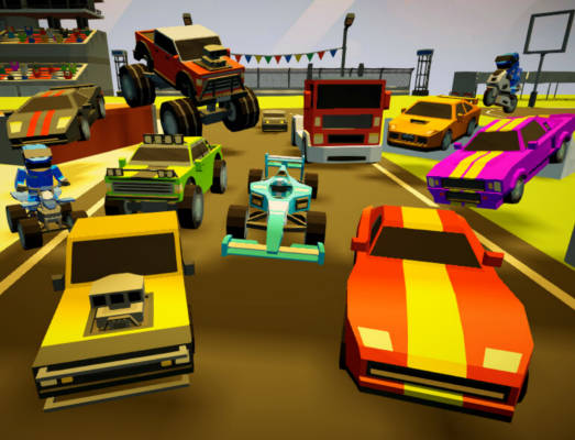 3d Arena Racing Game Play Online For Free Kibagames