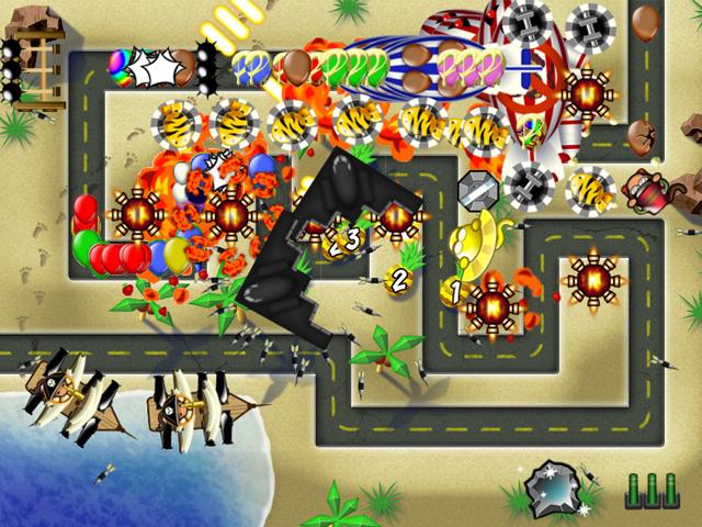 Balon Meydanı 4 Oyunu Online ücretsiz Oyna Kraloyun