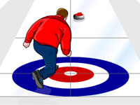 Virtuell curling