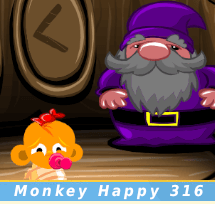 Monkey Happy Stage 316