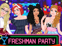 Freshman Party Princesses