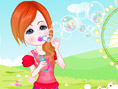 Bubble Girl Dress up