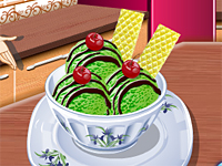 Sara's Green Tea Ice Cream