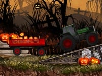 Halloween- Kürbis- transport
