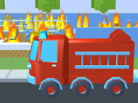 Spielaffe Feuerwehr