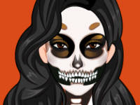 Kardashians Spooky Make Up