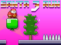 Adventsspiel: Santa Run 3