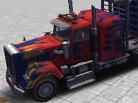 3D Parking Thunder Trucks